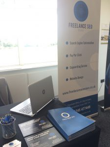 freelance seo essex at superconnected business conference