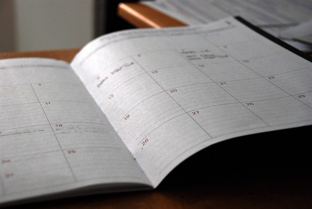 diary / day planner