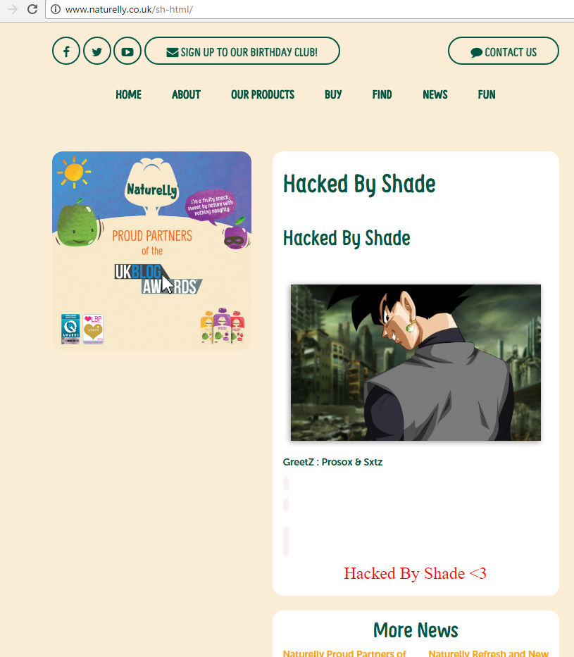Naturelly hacked by Shade