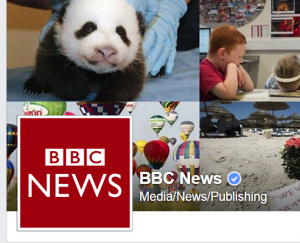 BBC News Facebook page
