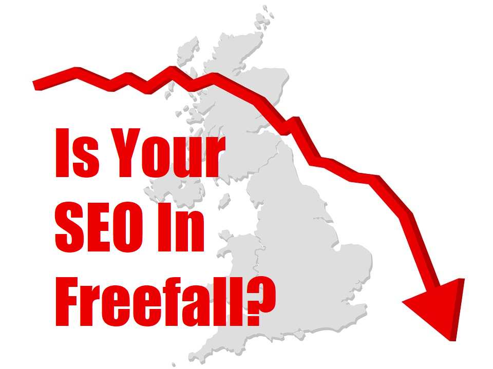 is your SEO in freefall?
