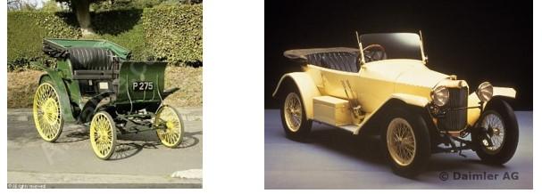 Daimler cars