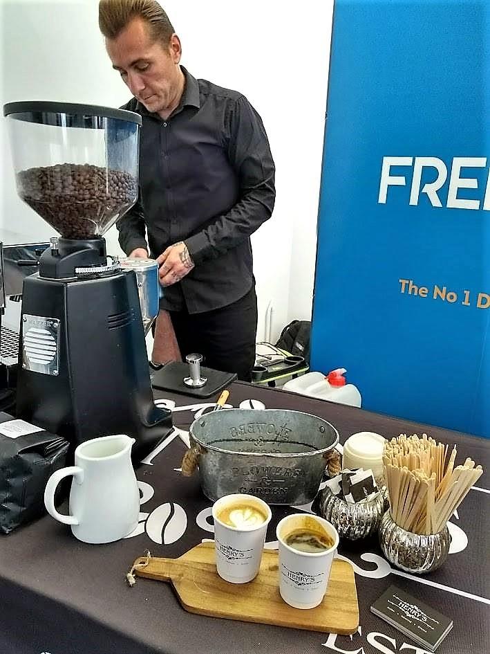 Henrys Coffee at Freelance SEO Essex