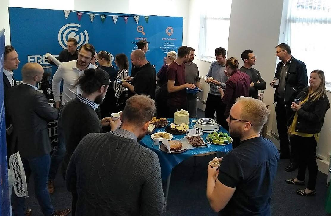 coffee morning at Freelance SEO Essex