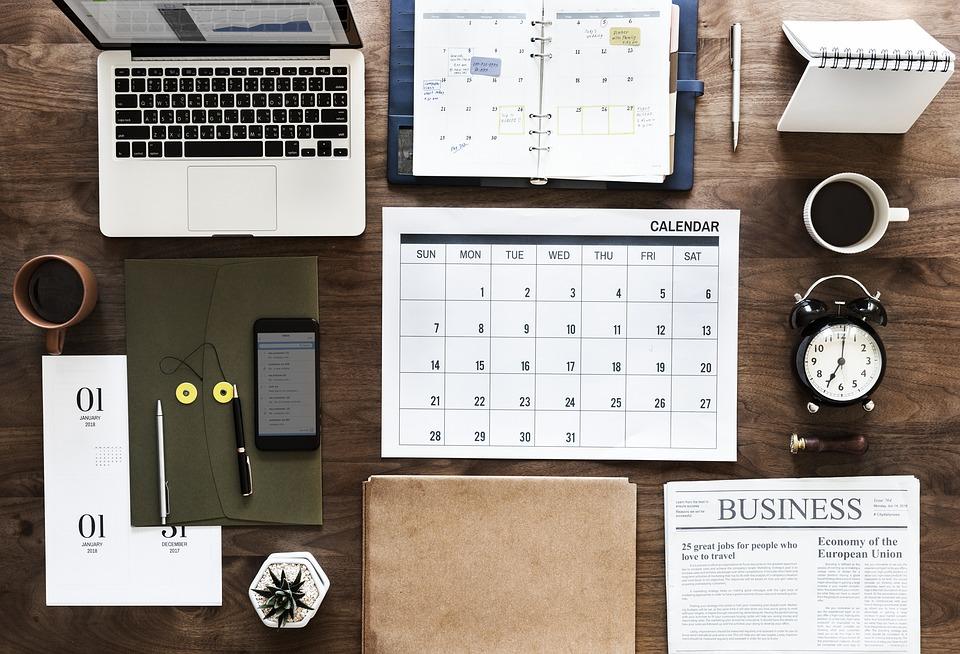 business content calendar