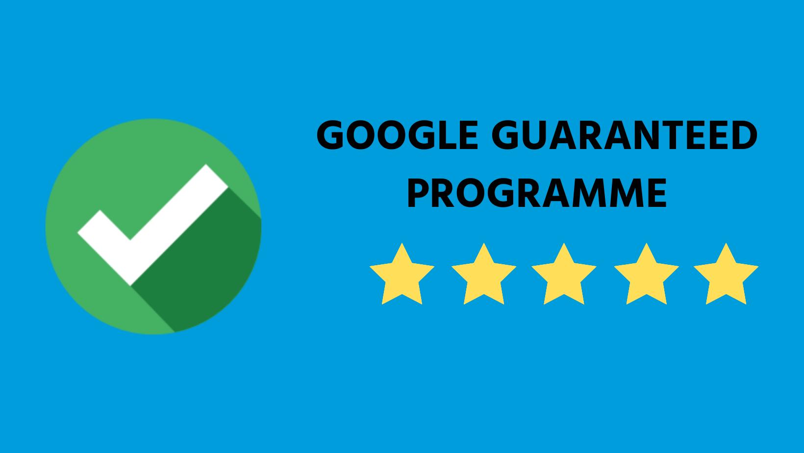 Google Guaranteed Programme Freelance SEO Essex
